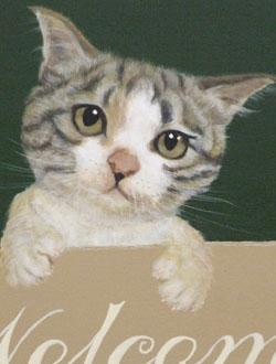 猫のパネル