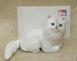 猫の置き物